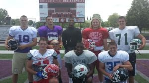 STEVE HANLON: Region football stars having a blast in Indy