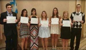 Scholarships awarded by foundation