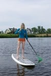 Paddle Power: Exercise on calm waters