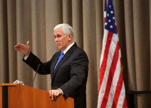 Pence actions suggest possible bid for higher office