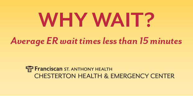 Chesterton Health and Emergency Center offers shorter wait times, high patient satisfaction