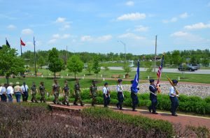 Gallery: U.S. Air Force Auxiliary Civil Air Patrol lays wreath at Community Veterans Memorial