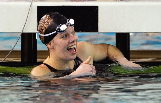 chesterton wins 13th straight dac meet girls swimming crown swimming