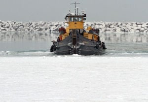 'Formidable' ice has had a major impact on shipping
