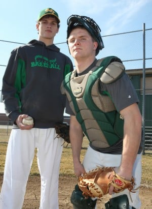 Morgan's Dougherty and Rettinger have been a pitching battery for a decade