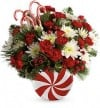 Teleflora Peppermint Christmas Bouquet 