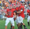 Rensselaer at Kankakee Valley football game