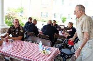Seniors host Sheriff's Department