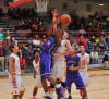 Merrillville's Jairus Stevens goes up for a shot against Andrean on  Saturday night.