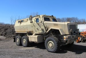 Michigan City police land 'indestructable' military vehicle
