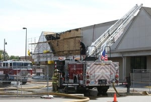 Fire breaks out in Portage