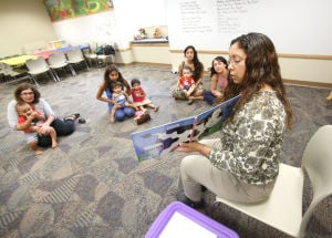 Griffith-Calumet toddlers hear stories
