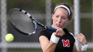Back ailment has Rooth putting everything into her tennis game