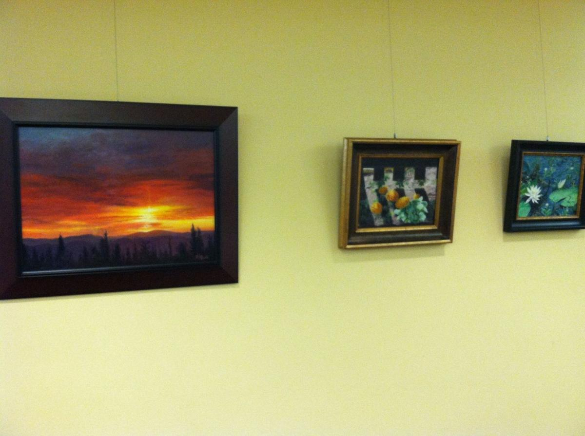 Hammond library shows work of laporte artist lake county for Laporte library