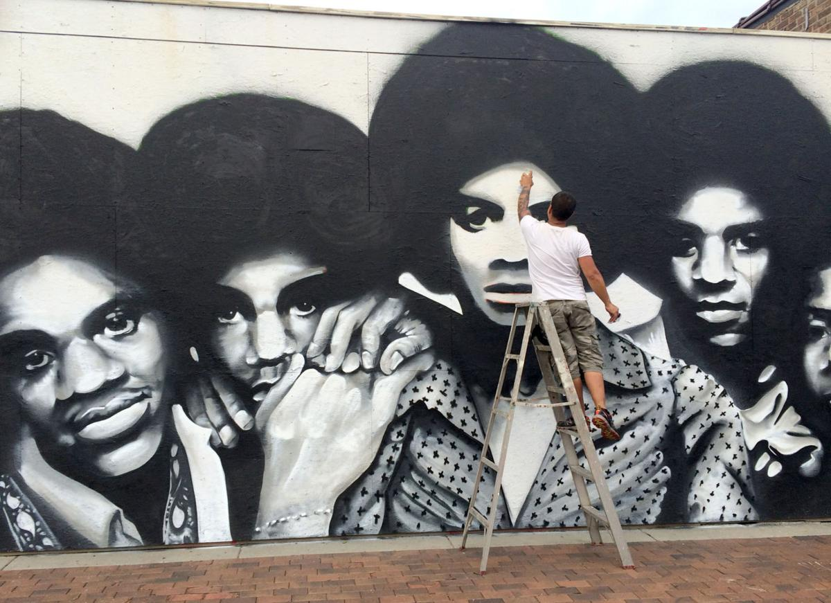 Miller arts group will preserve jackson 5 mural bring for Jackson 5 mural