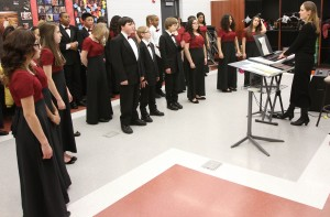 Music, projects exhibits, technology highlight D.158 Family Learning event