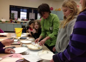 Pi Day a big hit at Joan Martin Elementary School