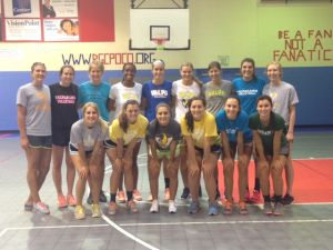 VU volleyball team 'serves' up fun with one-day camp for club members