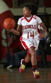 Ninah Bertrand, T.F. South basketball