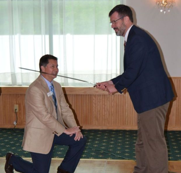 Bosak Knighted For Generous Support Of Boy Scouting