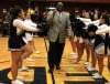 Former St. Francis de Sales basketball coach Larry Moore is honored