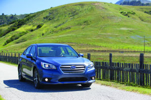 All-new Subaru Legacy features refined design