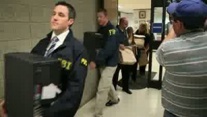 VIDEO: Van Til's office raided