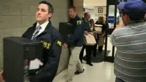 VIDEO: Van Til's office raided