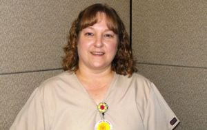 Nursing assistant named Ambassador of the Month