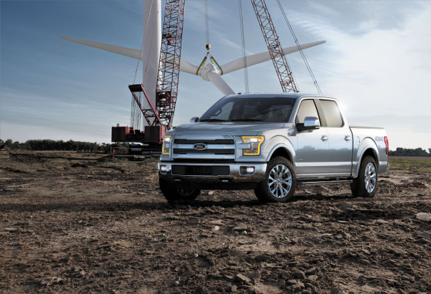 Ford profits fall because of F-150's aluminum body switch