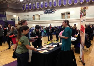 Hobart High School hosts college fair