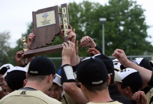 Griffith handles Clark for baseball sectional title