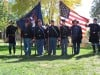 Civil War re-enactors at Lake Fairgrounds