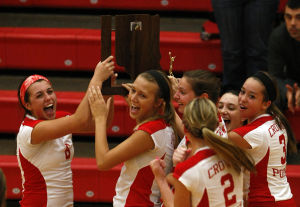 C.P. serves itself a sectional championship