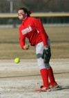 T.F. South/Bloom  girls softball