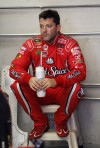 Tony Stewart sits at Indy
