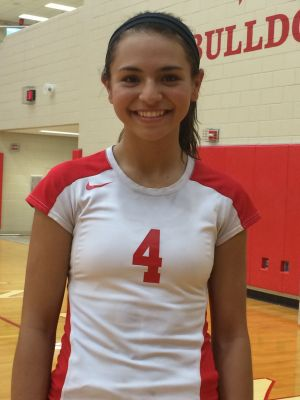 IN THE HEADPHONES: Crown Point's Alaina Chacon