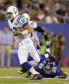 Luck throws two TD passes in exhibition win