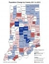 County population changes