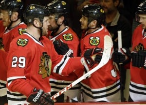 Hawks' net traffic, power play come to life in win