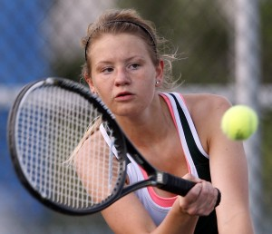 Whiting senior Huss finds success at No. 2 singles