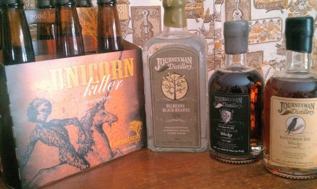 Art and Food: Two ingredients for a fun pop-up event this weekend at Journeyman Distillery