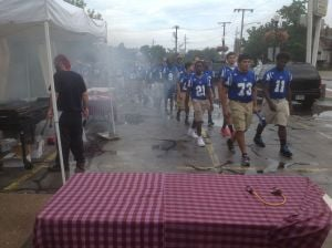 Rain can't stop Battle of 119th Street BBQ