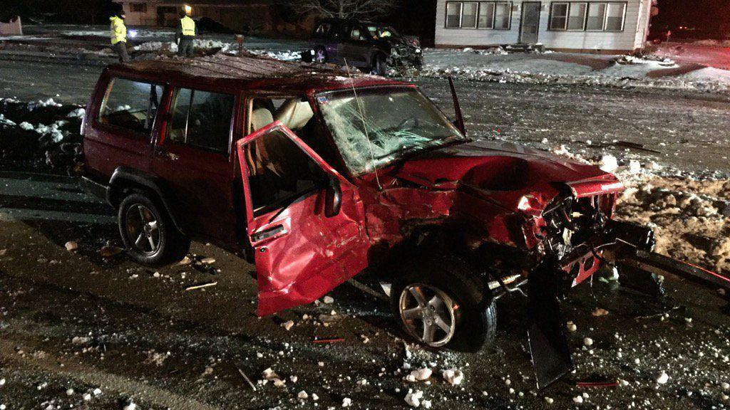 Eight injured in laporte multi car crash laporte county for Laporte county jobs