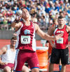 Hanover's Zak finishes 'last' in his last race of high school
