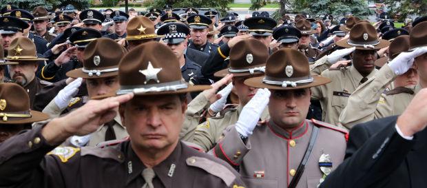 Slain officer remembered for leadership