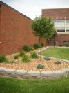 Luther East student beautifies high school's exterior