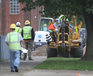 Gas leak forces E.C. residents from homes