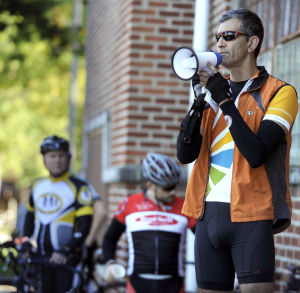 Pedaling fundraisers