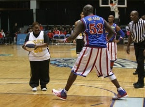 Globetrotters give region fans their money's worth